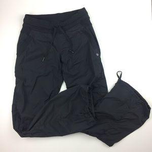 LuluLemon Dance Studio black pants size 6